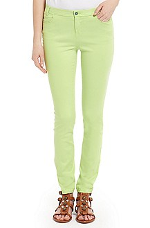 'Sanariko-D' | Cotton-Blend Skinny Pants