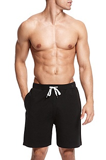 BOSS Loungewear, Drawstring Waistband Cotton 'Short Pant BM'