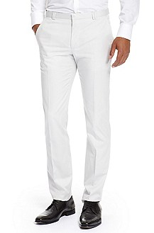 'Himmer ' | Slim Fit, Stretch Cotton Dress Pants