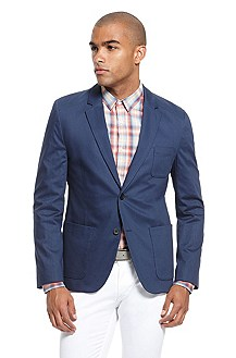 'Antero' | Slim Fit, Stretch Cotton Sport Coat