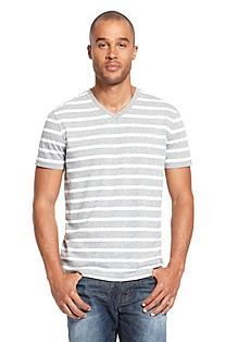 'Tryout' | Cotton-Blend Striped T-Shirt