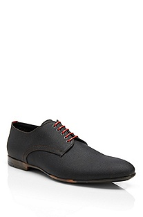 'Passio' | Waxed Cotton Lace-Up Shoes