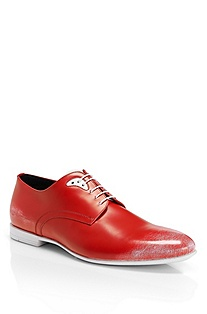 'Pabio' | Brush Off Leather Oxford Shoe
