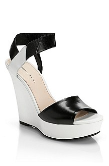 'Leticia' | Two-Tone Platform Sandal