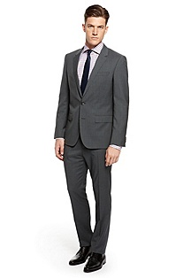 'Huge/Genius' | Slim Fit, Virgin Wool Suit