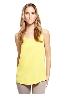 'Cendis' | Stretch Silk Tank Top