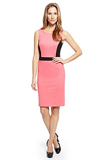 'Karline' | Colorblock Sheath Dress