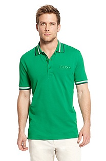 'Paddy Pro' | Modern Fit, Stretch Cotton-Blend Polo Shirt