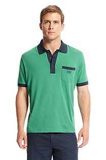 'Paddys' | Modern Fit, Cotton Polo Shirt
