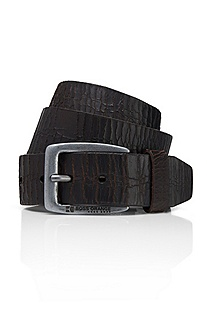 'Justos' | Distressed Leather Belt