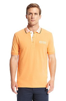 'Paddy MK' | Modern Fit, Stretch Cotton Polo Shirt