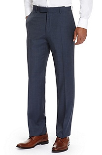 'James' | Classic Fit, Virgin Wool Dress Pants