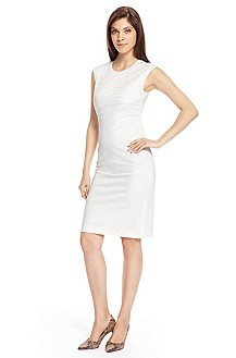 'Dicaila' | Stretch Cotton Sheath Dress