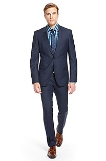 'Ryan/Win' | Extra Slim Fit, Virgin Wool Suit
