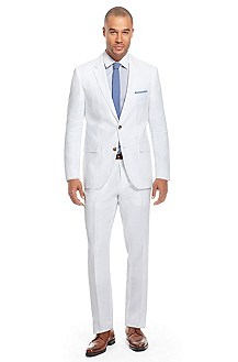 'The James/Sharp' | Modern Fit, Linen Suit