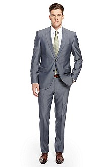 'The James/Sharp' | Modern Fit, Wool Silk Suit
