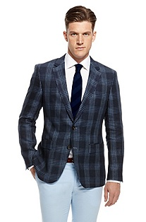 'The Smith' | Modern Fit, Linen Sport Coat