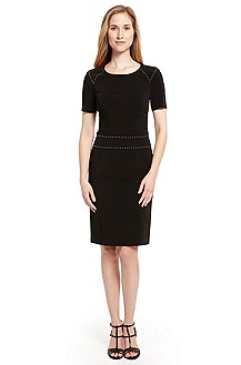 'Kristana' | Studded Sheath Dress