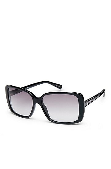 'Sunglass' | Square Plastic Frame Sunglasses, Assorted Pre-Pack