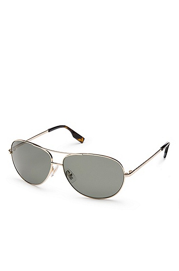'Sunglass' | Gold Metal Classic Aviator Sunglasses, Assorted Pre-Pack