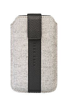 'Alness Universal ' | Wool and Leather Cell Phone Case