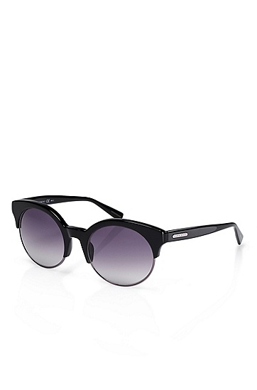 'Sunglass' | Black Plastic Frame Sunglasses, Assorted Pre-Pack