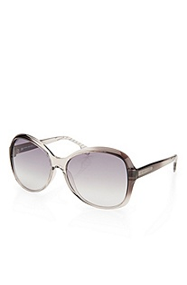 'Sunglass' | Plastic Two-Tone Frame Sunglasses