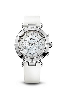 '1502314' | White and Silver Round Watch