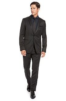 BOSS Black Extra Slim Fit Virgin Wool Suit