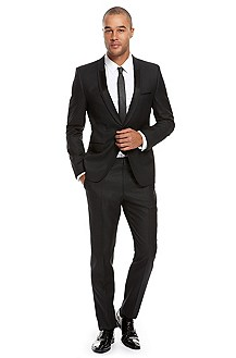 Hugo Extra Slim Fit Virgin Wool Suit