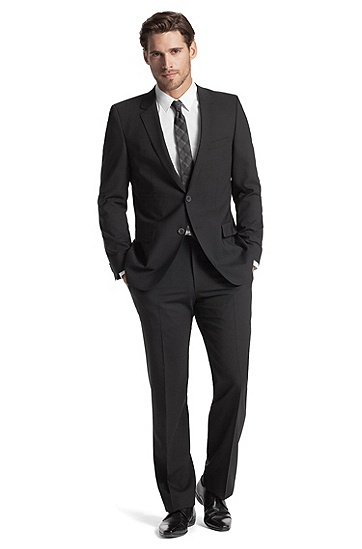 Business suit  'Aamon/Hago', Black