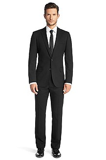 Slim fit new wool suit from HUGO 'Aiko/Heise'