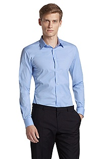 Slim fit blended cotton business shirt 'Elisha'