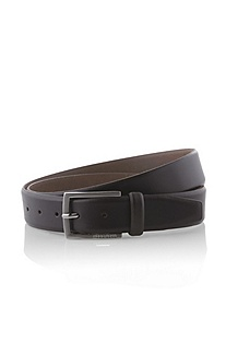 Belt with a square metal buckle 'BARNEY'