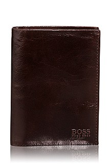 Leather wallet with coin compartment 'Pisa'