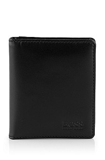Genuine smooth leather credit card holder 'MONZA