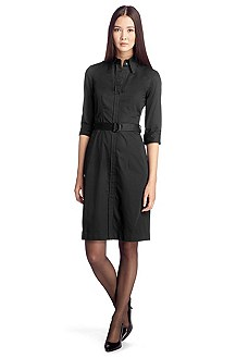 Belted shirt dress 'Dashina2'