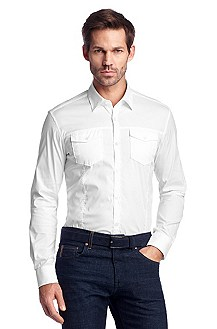 Casual shirt with flap pockets 'Mirko'