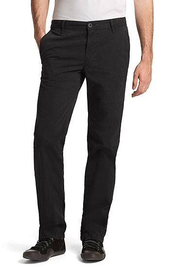 Pantalon Regular Fit, Schino-Regular-D, Noir