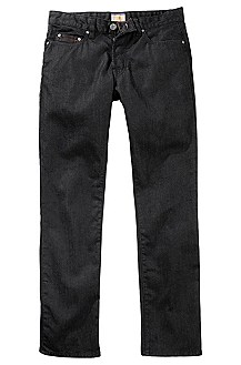 Regular-Fit Jeans ´Orange25` aus Black Denim