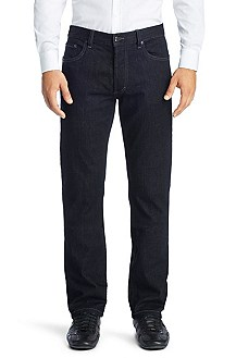 Regular fit jeans ´HUGO 677/8` van een katoenmix
