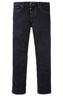 Regular fit jeans in cotton blend 'Hugo 677/8'