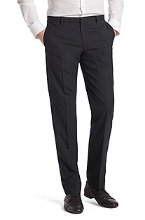 Fashionable new wool business trousers ´Heise`