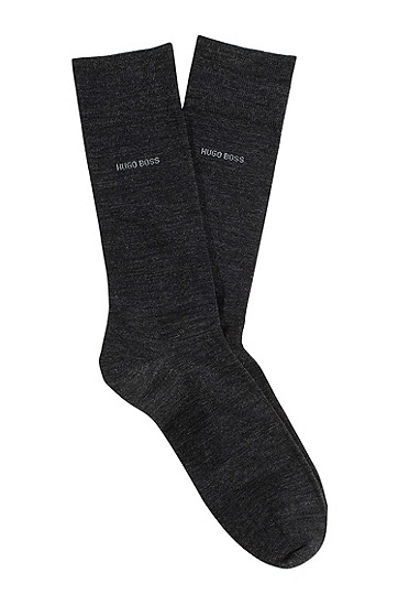 New wool socks 'John RS Uni', Anthracite