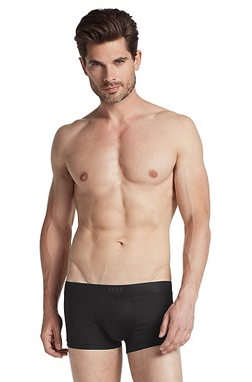 Boxer shorts with a logo waistband 'Boxer BM', Black