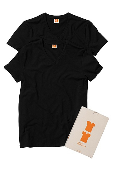 2-pack T-shirt 'Tyll', Black