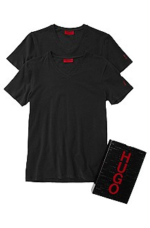 T-Shirt ´Double-V-Stretch` im Doppelpack
