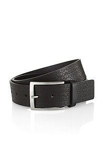 Sporty leather belt 'Sambeon'