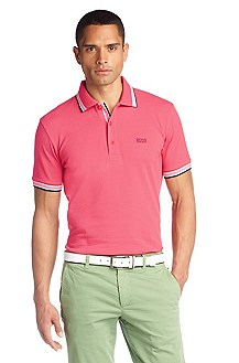 Polo shirt with stripe details 'Paddy'