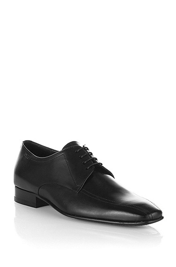 Business shoe with topstitching 'MELSO', Black